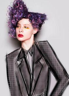 Hair: Tracey Hughes @ Mieka Hairdressing / Make-Up: Annika Bowman @ Mieka…