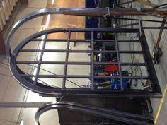 Eurofineline - By Colletti Design - Work in progress - Full Arch Pivot Iron Door Arched Doors, Pivot Doors, Entry Doors, Windows And Doors, Sliding Doors, Steel Windows, House Front Door, Door Ideas, Gates