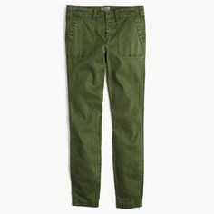 ***These pants fit perfectly and will be a great spring staple. J.Crew+-+Skinny+stretch+cargo+pant