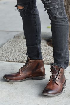 27d3b9f4eb0a The Best Men s Shoes And Footwear   hand made boots from bedstu with high  quality leather. the distressed brown is h.