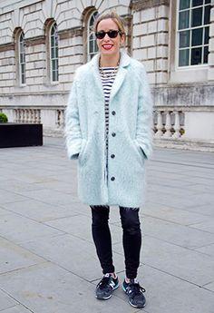THE coat of the season - make it pastel, make it fluffy, and make it oversized. http://www.company.co.uk/fashion/street/street-style-street-fashion-november-2013