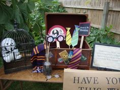 Harry Potter Photo Booth Props.