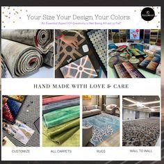 Rugs On Carpet, Carpets, Creative, Wall, Handmade, Color, Design, Farmhouse Rugs, Rugs