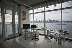 Awesome home office view.  $14 million Greenwich Village Penthouse/Duplex.
