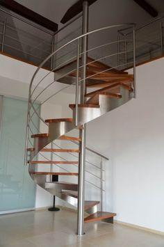 Moderne Designtreppen - Eine Idee aus Metall und Holz | treppen ...