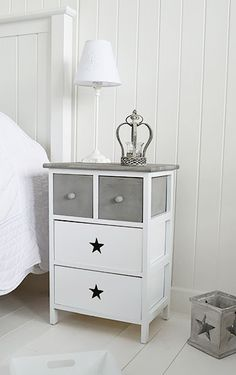 White Bedroom Furniture Including Bedside Tables Desks And Storage Our Finishing Touches Make For A Perfect Children S Grey