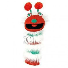 The Puppet Company handpop Sockette Chris