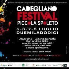 Cadegliano festival - Piccola Spoleto 2012 Festival delle Arti sceniche e Figurative. 5-8 Luglio 2012