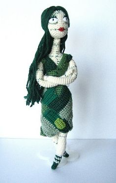 Green Patch Doll by irenestrange - Tim Burton's Sally Stitches
