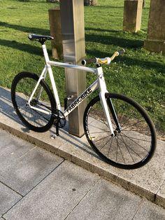 Endlich fertig! #fixie #fabricbike #cinelli #blb #bikes