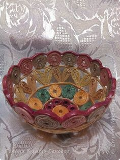 Recycled Paper Crafts, Straw Crafts, Jute Crafts, Newspaper Crafts, Crafts To Do, Quilling Jewelry, Paper Jewelry, Paper Quilling, Jewelry Crafts