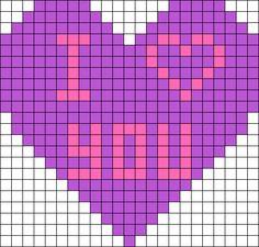 Kandi Patterns for Kandi Cuffs - Simple Pony Bead Patterns Perler Bead Designs, Perler Bead Templates, Perler Bead Art, Perler Beads, Fuse Bead Patterns, Peyote Stitch Patterns, Kandi Patterns, Beading Patterns, Graph Paper Drawings