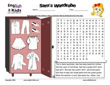 1000+ images about Clothing Unit for ESL Kids on Pinterest | ESL ...