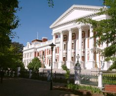 The Parliament of South Africa, in Cape Town.
