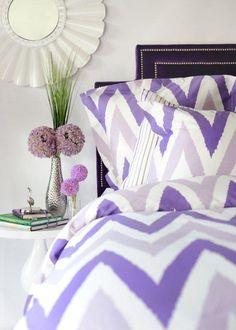 cute purple zig zag