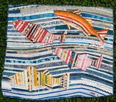 Selvage Blog: Selvage Fish Quilt
