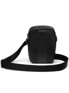 buy popular 03d2e ba999 Lacoste Men s Trek Nylon Vertical Bag
