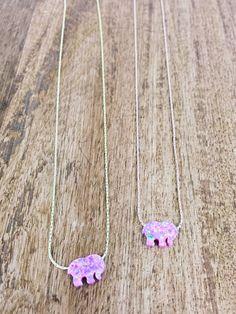 Pink Opal Ella Necklace – Ivory Ella