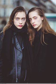Odette Pavlova, Lia Pavlova by Jean Baptiste Soulliat Dior - Paris Fashion Week PAP AW1617