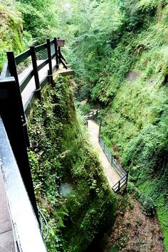 Hiking to Shanklin Chine, Isle of Wight, UK