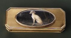 Box, Probably by Joseph-Étienne Blerzy  (apprenticed 1750, master 1768, active 1806) Artist: Miniature by Jean-Baptiste Isabey late 18th century  French (Paris) Gold, ivory The Metropolitan Museum of Art - Box