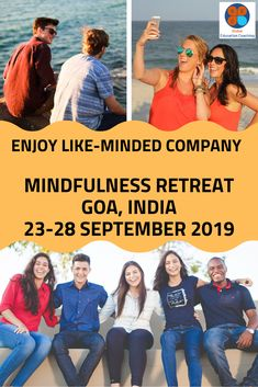 At GEC's you will engage with other like-minded individuals and potentially make that could last you a lifetime Mindfulness Retreat, Positive Mental Health, Mindfulness Techniques, Goa, Coaching, Education, Friends, Training, Amigos