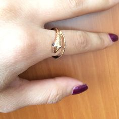 Twisted Snake Ring! Twisted snake Ring! Without tags but Never been worn Jewelry Rings