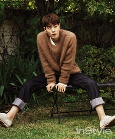 """"""" cast featured on different magazines! Kang Ha Neul on InStyle, Hong Jong Hyun on The Star and InStyle! Hong Jong Hyun, Jung Hyun, Drama Film, Drama Movies, Korean Celebrities, Korean Actors, Asian Actors, Scarlet Heart Ryeo, Instyle Magazine"""