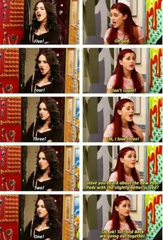 I like 3 lol Really Funny Memes, Stupid Funny Memes, Funny Relatable Memes, Hilarious, Funny Humor, Victorious Nickelodeon, Icarly And Victorious, Jade Victorious, Valentines Day Funny