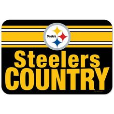 Pittsburgh Steelers~ Steelers Country x Flag - Official Online Store Steelers Flag, Here We Go Steelers, Steelers Pics, Steelers Stuff, Pittsburgh Steelers Merchandise, Pittsburgh Sports, Pitt Panthers, Best Football Team, Steeler Nation