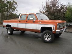 75 I think had one just like it same color schema but a standard cab dream truck right here