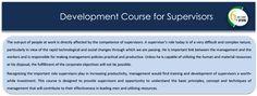 Development Course for Supervisors at Management House, Model.VenueCity, - Ref - 319