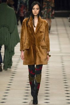 Burberry A/W 2015 Collection: Los Angeles Meets London