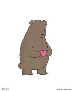 Liz Climo - (facebook page) Bear love.