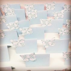These custom #placecards were ordered from a customer to be used at her #passoverseder. I can make cards in your color of choice. #Abmcrafty #abmhappylife #abmlifeissweet #abmlifeiscolorful #darlingmovement #stationery #thehappynow #whereitsat #happymail #handmade #handmadecards #childhoodunplugged #etsyshop #etsyseller #cardmaking #momlife #mommylife #momoreneur #girlmom #instamoms #newmom #instakids #boymom