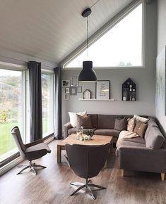 """1,654 Likes, 32 Comments - INTERIOR• C H R I S T I N A (@christina.hansen) on Instagram: """"Lader batteriene her etter ➖> • • • • • #hytteliv #hytta #interiordesign #interiør #cabin…"""""""