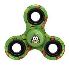 Goofy Disney Fidget Spinner Toy 3 Way Emoji Multi Printed Foco
