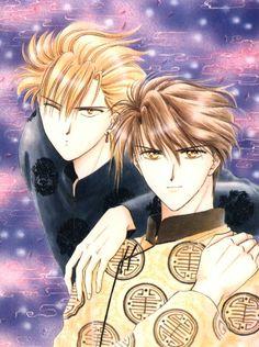 Fushigi Yuugi - Tamahome & Tasuki   Oh Dear Lord-Sama, I shipped them SOOO hard. •Kimigami-Sama