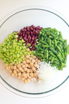 This fresh Homemade Three Bean Salad is so much tastier than the store bought variety. The dressing gives it a sweet, vinegary bite that is irresistibly good. ~ https://www.fromvalerieskitchen.com