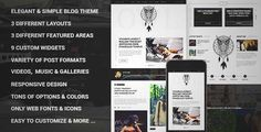 Download and review of Owl - Personal Responsive WordPress Blog Theme, one of the best Themeforest Magazine & Blogs themes {Download & review at|Review and download at} {|-> }http://best-wordpress-theme.net/owl-personal-responsive-download-review/