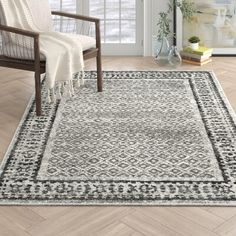 Esperanza Ivory/Silver Area Rug Rug Size: Rectangle x Large Rugs, Small Rugs, Jute, Living Room Area Rugs, Dining Room Rugs, Area Rug Sets, Solid Rugs, Black Rug, Geometric Rug