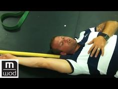 Shoulder position fault. SUBSCRIBE: http://bit.ly/1bRdYec About MobilityWOD: MobilityWOD is the ultimate guide to resolving pain, preventing injury, and opti...