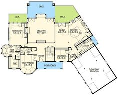 Two Master Suites - 2391JD   Architectural Designs - House Plans