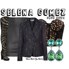 Inspired by Selena Gomez in her 2013 music video for Slow Down.
