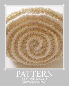 Crochet Hat Spiral Pattern--free pattern