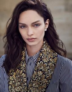 visual optimism; fashion editorials, shows, campaigns & more!: luma grothe by ben morris for elle russia august 2015