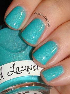 Liquid Lacquer The Rain Song.  Swatched on nail wheel.  Sold out.  $12 shipped.  Amy Bethel