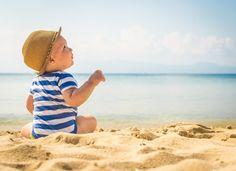 Saiba os cuidados que você precisa ter ao levar seu bebê para a praia
