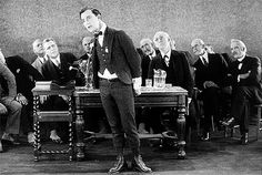 When he seemed to defy gravity. | 25 Times Buster Keaton Was The Absolute Realest