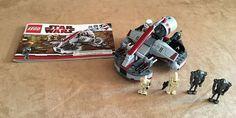 8091 Lego Republic Swamp Speeder Complete Star Wars minifigures clone #LEGO